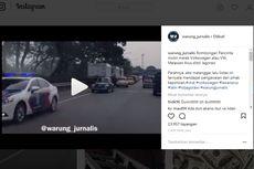 Viral, Rombongan Mobil Klasik Lawan Arah di Jagorawi