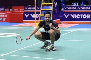 Surat Volunter China Buat Anthony Ginting