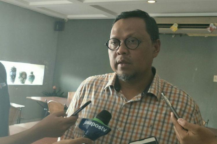 Ketua DPP Partai Kebangkitan Bangsa (PKB) Lukman Edy ketika ditemui dalam sebuah diskusi di Jakarta, Jumat (30/3/2018).