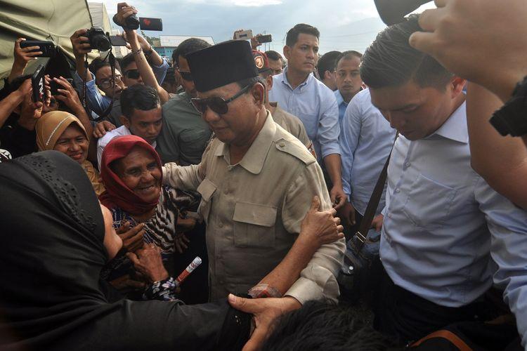 Prabowo: Rakyat Indonesia Tidak Mau Dibohongi Lagi...