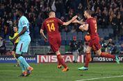 Hasil Liga Champions, Kejutan, AS Roma Sisihkan Barcelona