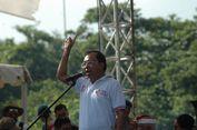 Gubernur Bali I Wayan Koster Kampanye Dukung Jokowi di Acara Polda Bali