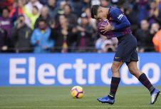 Tak Becus Terima Bola, Philippe Coutinho Dibentak Gerard Pique