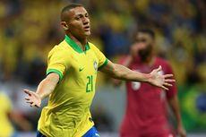 Hasil Laga Persahabatan, Neymar Cedera, Richarlison Bawa Brasil Menang