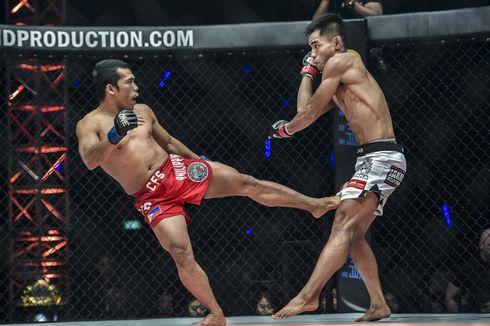 2 Petarung Indonesia Takluk di ONE Championship Jakarta