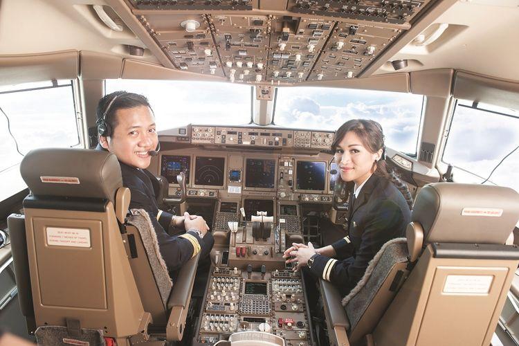 Ilustrasi pilot