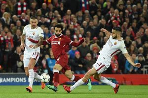 Liverpool Vs AS Roma, The Reds Menang di Anfield dalam Drama 7 Gol