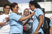 Ikut Gerakan Cinta Laut, Kaka Slank Dikalungi Syal oleh Menteri Susi