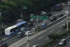 Viral Video Mobil Masuk Tol lewat Exit Tol Slipi, Ini Kata Jasa Marga