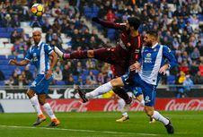 Hasil Liga Spanyol, Barcelona Tertahan pada Laga Derbi