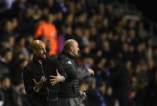 Manajer Wigan Bantah Terlibat Cekcok dengan Guardiola