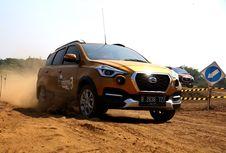Ketika Datsun Cross Libas Medan 'Off-Road' di Tol Trans Jawa
