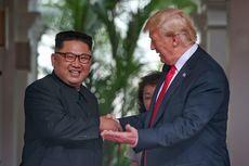 Foto Pertemuan Trump dan Kim Dipajang di Gedung Putih