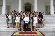 Presiden Jokowi dan Finalis Puteri Indonesia Bahas Generasi Milenial