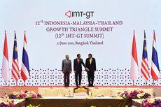 Presiden Jokowi Dorong 3 Fokus Kerja Sama RI, Malaysia, dan Thailand