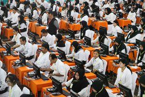 Wapres Kalla Nilai 'Passing Grade' Tes CPNS Tak Perlu Diturunkan