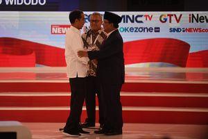 Saat Prabowo dan Jokowi Sepakat dalam Debat