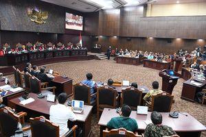 Alasan MK Tolak Penambahan Saksi dari Tim Hukum Prabowo-Sandiaga