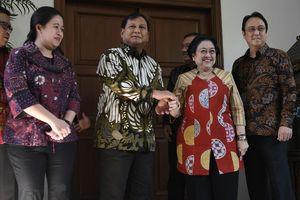 Seusai Bertemu Prabowo, Megawati: Tak Ada Koalisi, Tak Ada Oposisi