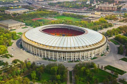Luzhniki, Stadion Kembaran GBK Senayan Tuan Rumah Piala Dunia 2018