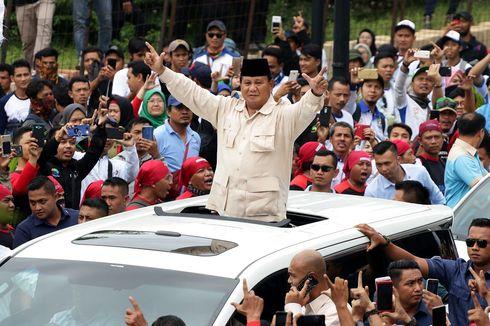 Rekapitulasi KPU: Prabowo Menang di Jabar, Selisih 5 Juta Suara dari Jokowi