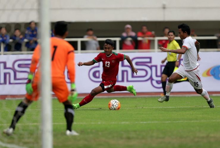 Timnas U-23 Indonesia Kalahkan Singapura 3-0