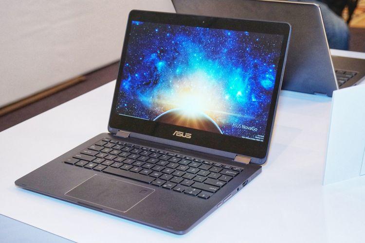 Asus NovaGo, kategori Always Connected PC yang ditenagai oleh chip Snapdragon 835.