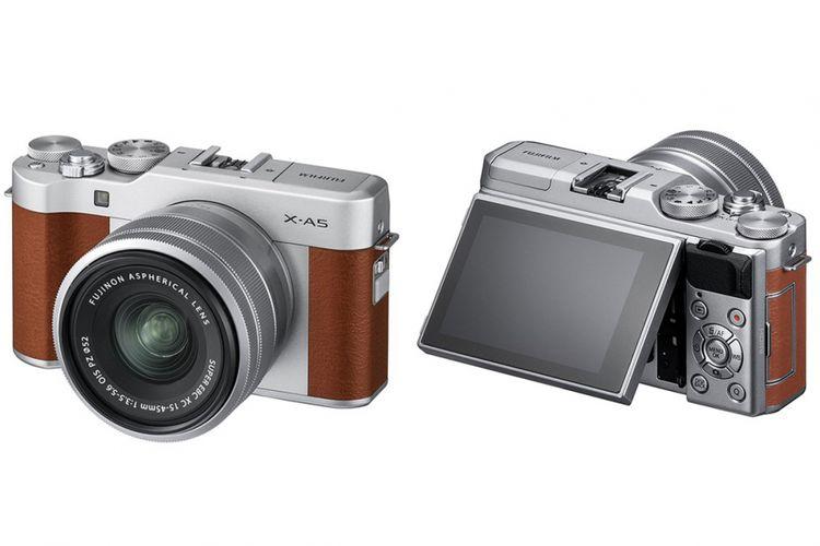 Kamera mirrorless Fujifilm X-A5.