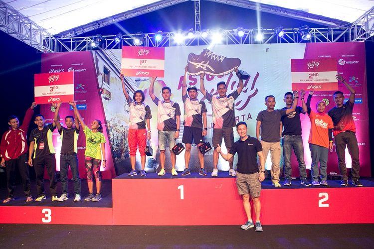 Asics Relay akan kembali digelar di Indonesia pada 2018, tepatnya di Pantai Festival Taman Impian Jaya Ancol, Jakarta, pada 4 Agustus 2018 mendatang.