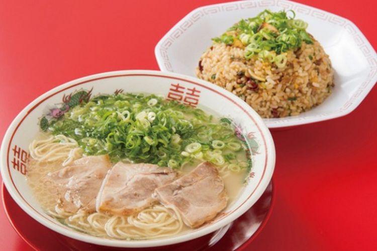 Nagahama Ramen Shin-chan, Kombinasi Ramen dan Nasi Goreng Bawang Putih
