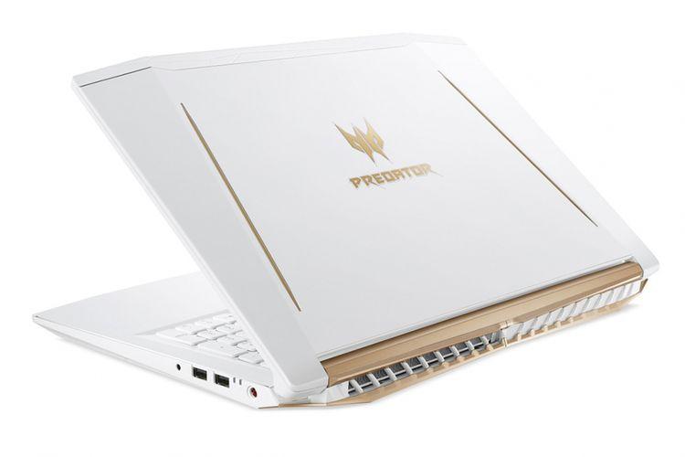 Laptop gaming Acer Predator Helios 300 edisi warna putih.