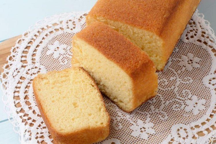 """""""Asakusa Brandy Cake"""" dari toko Shimizu cabang Asakusa"""