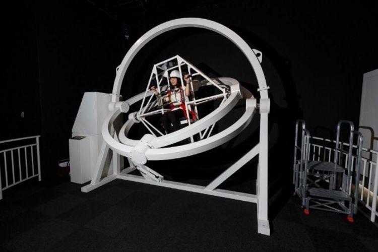 Zero Trainer, cobalah pengalaman tanpa gravitasi dengan mesin ini!