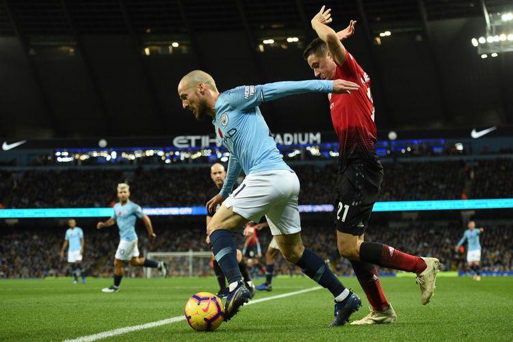 Hasil Man City Vs Man United, Menangi Derbi, City Kembali ke Puncak