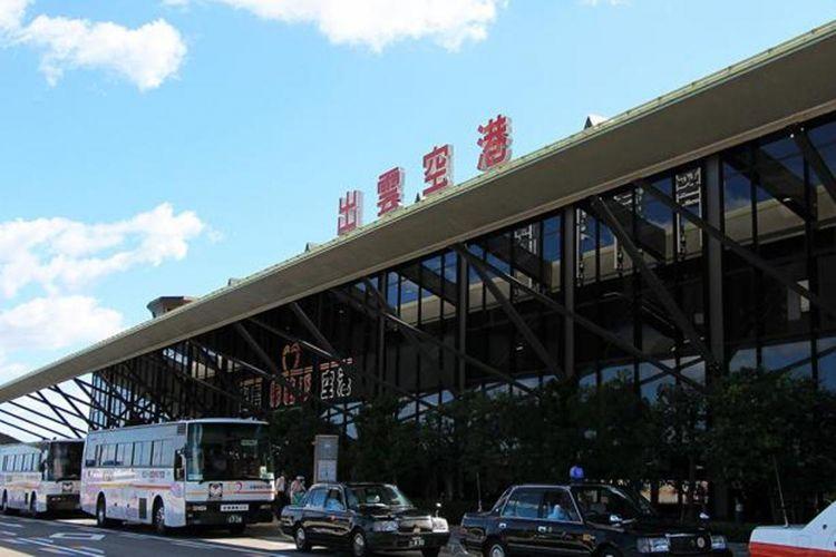 Perjalanan dimulai dari Bandara Izumo di Shimane. Kemudian kita akan menuju ke sebuah power spot untuk perjodohan, Kuil Izumo Taisha.