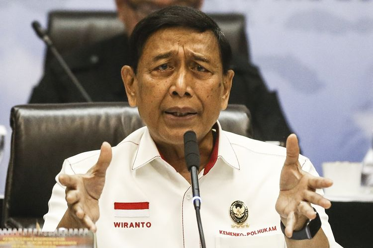 Menteri Koordinator Bidang Politik Hukum dan Keamanan, Wiranto