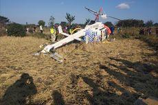 Cerita Warga yang Jauh-jauh Datang ke Lokasi Helikopter Jatuh Untuk