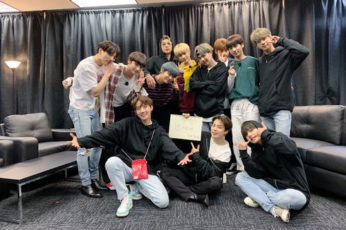 TXT Tonton Konser Speak Yourself BTS di Chicago