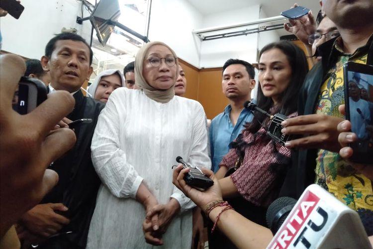 Ratna Sarumpaet usia jalani sidang vonis di Pengadilan Negeri Jakarta Selatan, Kamis (11/7/2019)