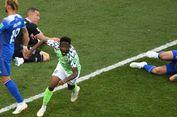 Nigeria Vs Islandia, Ahmed Musa Antar Elang Super Menang 2-0