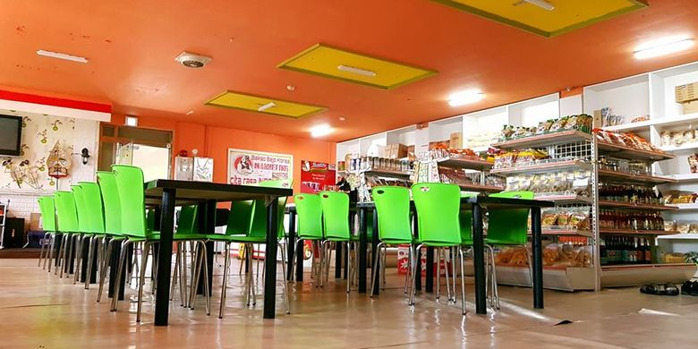 Kedai Bakso Bejo Korea di Poncheon-Si.