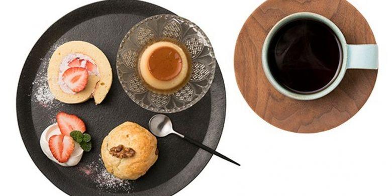 Okami Guchi Blend dan Sweets Plate
