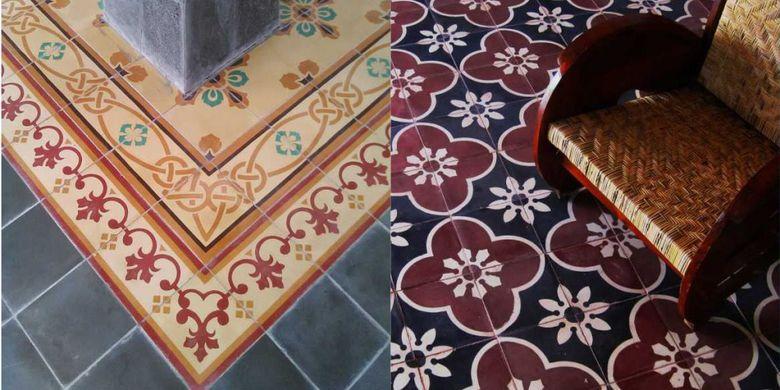 Salah satu produsen tegel, Sigit Indra mengatakan di Indonesia sendiri sudah digunakan sejak zaman kolonial Belanda.