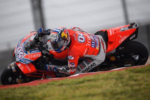 Klasemen MotoGP 2018, Dovizioso Unggul Satu Poin atas Marquez