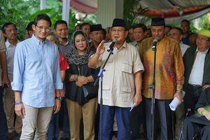 Sambil Tertawa, Prabowo Sebut Pengumuman KPU Dilakukan secara Senyap