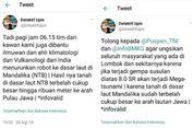 Isu Lombok akan Terkena Mega Tsunami, BMKG Sebut ini Hoaks