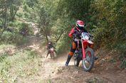 Uji Nyali, 40 Rider Trabas Trek Terjal di Semarang