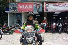 Touring Jakarta-Himalaya, Gunadi Banyak Dicegat Bikers Sumatera
