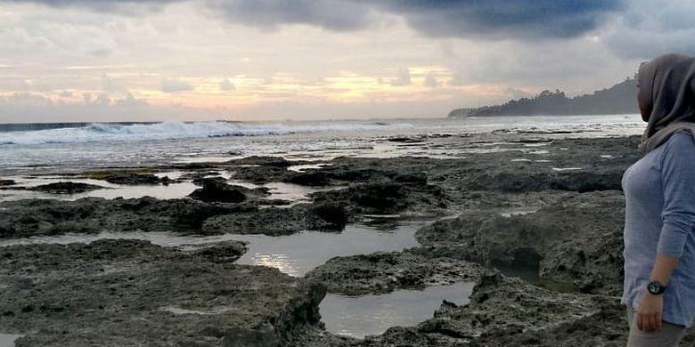 Salah satu Pantai di Pulau Simeulue, Aceh Utara.