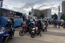 Ribuan Sepeda Motor Kampanyekan Keselamatan Berlalu Lintas
